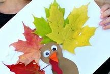 Thanksgiving | Ideas for Kids. / Fun ideas to celebrate Thanksgiving in your classroom. Includes free printables and thankful centered activities.