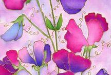 Silkin maalaus/ silkpaint