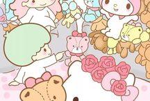 Little twin star/my melody/ Hello kitty / Hulluna näihin koko ikäni
