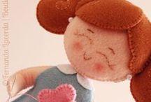 Fabric dolls / by Laura Parise