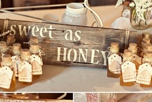 Rustic Wedding / Our 40 acre property screams Rustic; that is if creativity runs through you ;)  Here are some ideas to get you started :)