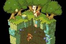 Isometric Camera Game Art / Isometric Camera Game Art -  In the style of games like Dofus, Wakfu and others.