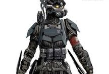 Characters - Sci Fi Armor & Costume / Characters - Sci Fi Armor & Costume