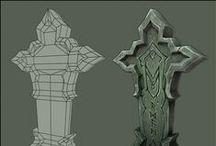 3D - Game Art - Props / 3D - Game Art - Props