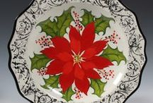 Christmas Holidays / For painting, crafting and decorating ideas at home, school or office