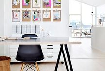 Stylish Home Office / Gorgeous rooms and spaces to work in