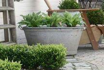 Tuin! / Nieuw huis, nieuwe tuin! In het voorjaar is hij aan de beurt nu eerst maar wat leuke ideeën opdoen...