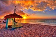 Inspiring Beach Sunsets / Beautiful Beach Sunsets in the world