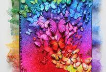 K-kaarten vlinders