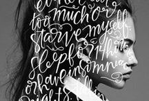 Typography / by Daniel Hammer