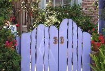 Trädgård: staket odyl