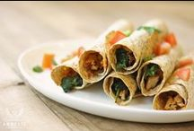 Wrap Artist / Wrapped up in sprouted-grain goodness.