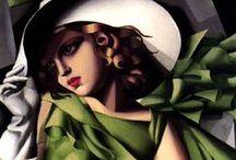 Tamara de Lempicka / ❁ ❃ ❋art❁ ❃ ❋
