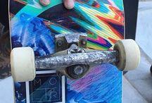 SKATEBOARDING / Random skateboarders from random places.
