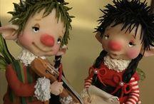 Folletti Fairy Puppet / Tutti fatti a mano!
