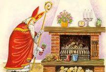 Sint Nicolaas / Alles wat te maken heeft met sint en piet! Ons mooie feest op  5 december.