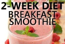Health benefit smoothies