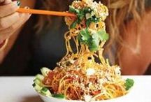 Oodles of Noodles  / Long, short, thin, fat, tasty noodles - from #soups, salads to stirfries and different flavours we love #noodle #recipes and #dishes