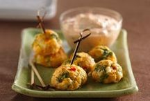 Oriental canapes