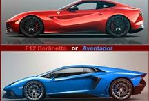 Car Choices / Which do you prefer?  We like to know what our followers think.  Let us know your favorites by leaving us your comments.