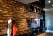 FriendlyWall  / The French designed product features locally sourced Canadian hardwood to create prefabricated wall panels to create an impeccable look with cutting edge architectural appeal.