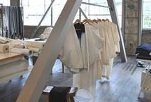 Retail & Display / Displays for garments, clothing store interiors