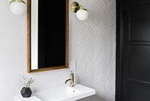 Interior - Bathrooms / Interior design, interior architecture of bathrooms and public ablutions