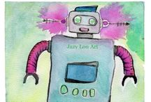 Jazy Lou Art / Art by Jazy Lou, available at my Etsy Store