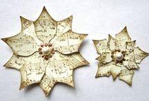 dekoracje świąteczne- christmas star etc.