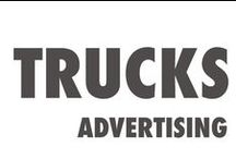 Trucks advertising / Ideas for commercial trucks advertising