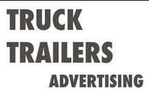 Truck trailers advertising / Ideas for truck trailer advertising