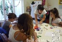 Baúl  KIDS & TEEN / Baúl de Moda desarrolla talleres de diseño para todas las edades, incluyendo a los más pequeños...estos son algunos momentos con ellos