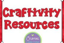 craftivities / Classroom Crafts for the upper elementary classroom: Ideas, Activities, and Inspiration