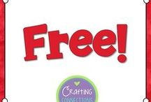 FREE items / Free printables, classroom ideas, and activities for the upper elementary classroom