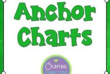 anchor charts / Reading and Math Anchor Charts and anchor chart tips for the upper elementary classroom!
