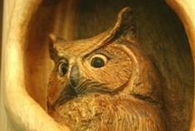 Wood Carvings / These breathtaking wood carvings combine the finest elements of art and nature.