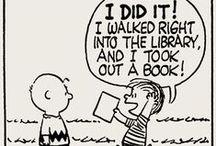 Kitap Saati / Kitaplarla ilgili karikatürler, ilginç tasarımlar...