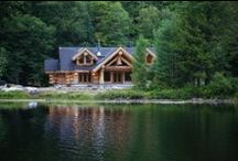 Log Home Luxury / Enjoy a guided tour of the beautiful 4,400 square foot lakefront cottage from our first episode of Timber Kings.