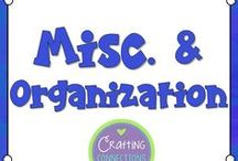 Misc. & Organization / Classroom Management & Organization: Tips, Tricks, and Inspiration