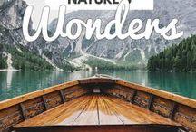 Nature's wonders / nature wonders, wonders of the world, beautiful nature, nature photos, amazing landscapes