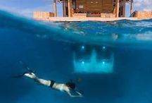 Underwaterlove / Die besten Tauchspots, Schnorchelplätze, Unterwasserrestaurants und -hotels rund um den Globus findet ihr hier.