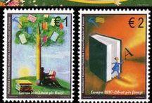 Kitap Postası / Kitaplar ve yazarlarla ilgili pullar, banknotlar...