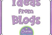 Ideas from Blogs / Great ideas and activities that I want to try out in the upper elementary classroom