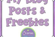 My Blog Posts & FREE Resources / Crafting Connections Blog Posts and FREE Resources