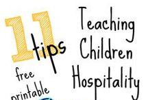 hosptitality / teaching children more about hospitality