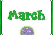 March / March bulletin boards and classroom activities ideal for the month of March