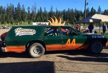 The Log Buster / Join us behind-the-scenes of the Annual Crash to Pass Derby at Thunder Mountain Speedway. Photos courtesy of Timber Kings director Garth Dyke.