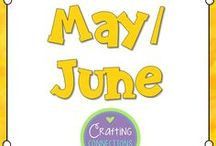 May and June / Activities to do at the end of the school year or in conjunction with May and June holidays