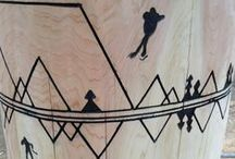 Fun And Games / Take a closer look at the magnificent torch carved by Mark and Dean for the 2015 Canada Winter Games.