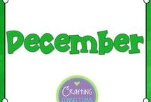 December / Activities for the Upper Elementary Classroom for the month of December